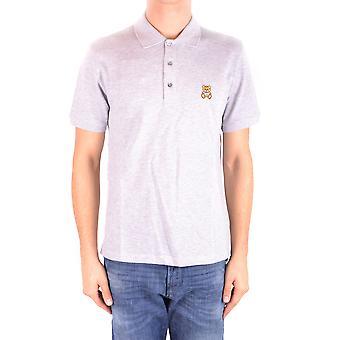 Moschino Ezbc015010 Men's Grey Cotton Polo Shirt