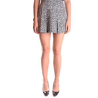Michael Kors Leopard Cotton Skirt
