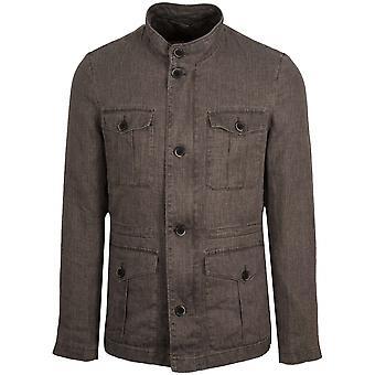 CC Collection Corneliani Lightweight Textured Field Jacket