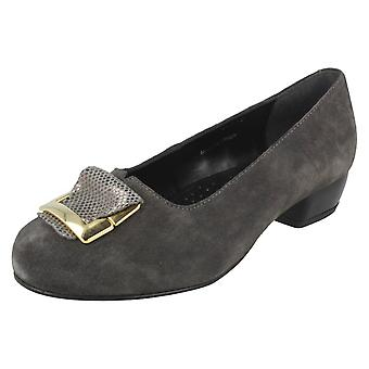 Ladies Da Bella Slip On Court Shoes Salisbury