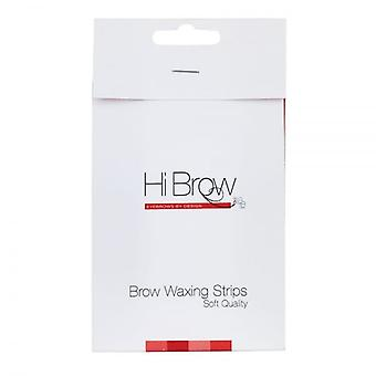 Hi Brow Soft Quality Brow Waxing Strips