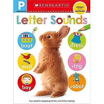 Cahier de compétences pré-K: lettres sonores (apprenants précoces scolastiques)