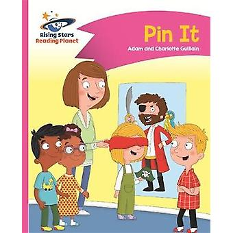 Reading Planet - Pin It - Pink A - Comet Street Kids by Adam Guillain