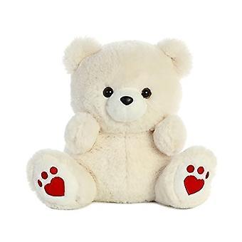 Aurora World Medium Cute Bear Plush Animal, 10.5