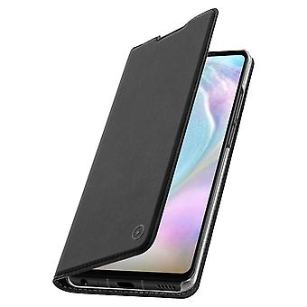 Huawei P30 Case Cover Wallet Support Stand Hard Shell Muvit Black