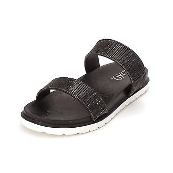 Xoxo Womens Rio1 Open Toe Casual Slide Sandals