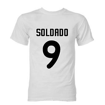 Роберто Валенсия Валенсия герой футболки (белый)