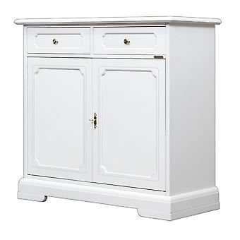 White sideboard 2 Doors 2 Drawers