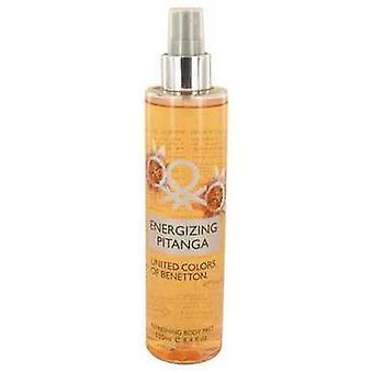 Energizing Pitanga By Benetton Body Mist 8.4 Oz (women) V728-534171