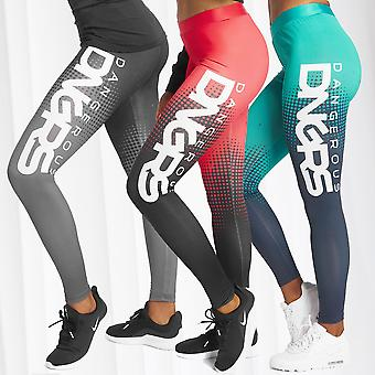 DNGRS Womens Leggings Trooper Stretch Pants Sports Fitness Urban Trousers Jogger