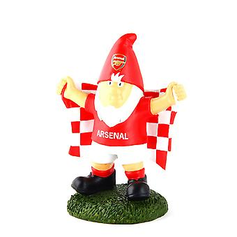 Arsenal FC oficial campeón fútbol cresta jardín Gnome