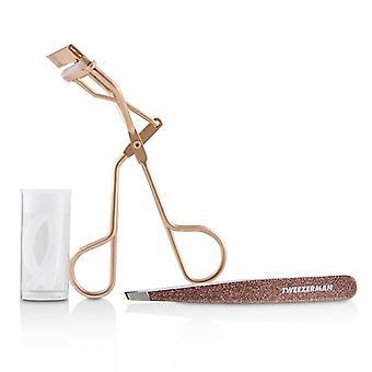 Tweezerman Rose Gold Glam Up Gift Set 2pcs