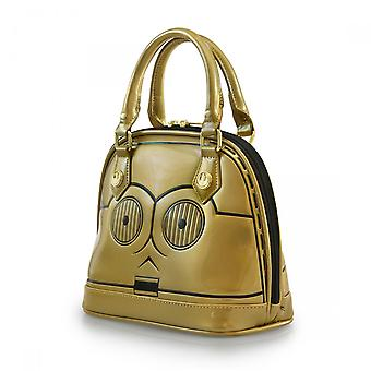 Håndtaske-Star Wars-C3Po mini Dome pures licenseret sttb0073