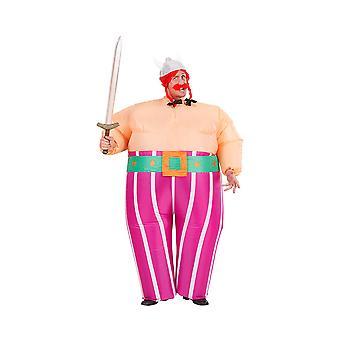 Uppblåsbar Viking kostym