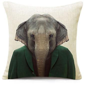 Wellindal Cushion Cover Elephant (Textile , Child's , Cushions)