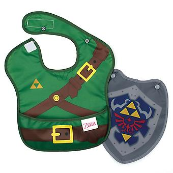 Legend Of Zelda linkki puku Sleeved Bib