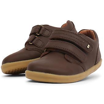 Bobux I-walk Boys Port Shoes Brown