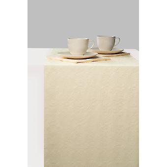Ambiente Table Runner, Elegance Cream