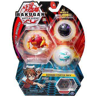 Bakugan Starter Pack Pyrus Gorthion