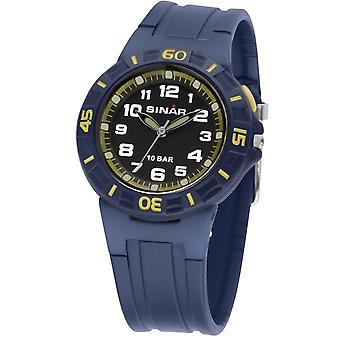 SINAR Youth Watch Kids Wristwatch Analog Quartz Rubber XB-20-2