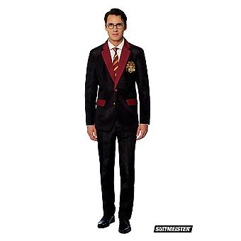 Gryffindor Harry Potter Suit Wizard Costume Suitmaster Slimline Economy 3-piece