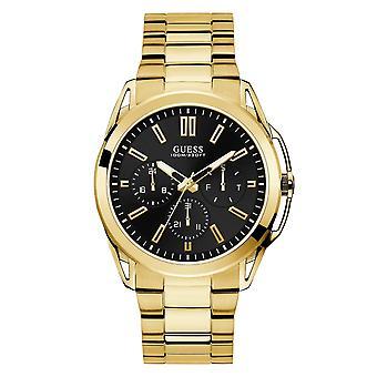 Gjett W1176G3 menn ' s Vertex Gold tone armbåndsur
