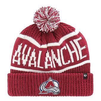 47 mærke strikket vinter hat-CALGARY Colorado Avalanche