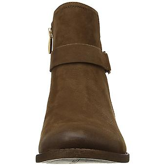 Franco Sarto Womens harwick Leather Almond Toe Ankle Fashion Boots
