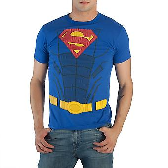 T-Shirt - DC Comics - Superman - Suit Up Packaged Costume Tee Men Large