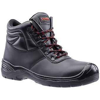 Centek Mens FS336 S3 Lace Up Safety Boot Black