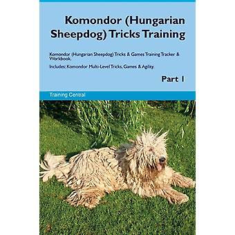 Komondor Ungarische Schafhund Tricks Training Komondor Hung von Central