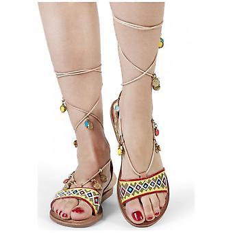 Gioseppo-schoenen-sandaal-HAIMI_40517_CUOIO-dames-Peru, groen-39