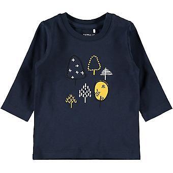 Name-It Jongens Newborn T-Shirt Natan Dark Sapphire
