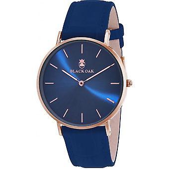 Montre Black Oak BX9000R-817 - Montre Cuir bleu Femme