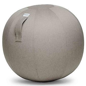 Vluv Leiv stof zetel bal diameter 60-65 cm stone / grijs
