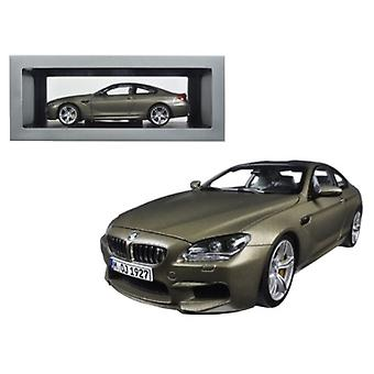 BMW M6 F13M Coupé Frozen Bronze 1/18 Diecast Model Car par Paragon