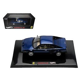 Ferrari Mondial 8 Blue Elite Edition Limitée Edition 1 de 5000 Produit dans le monde 1/43 Diecast Model Car par Hotwheels