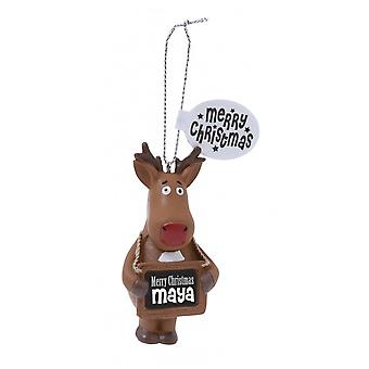 History & Heraldry Festive Friends Hanging Tree Decoration - Maya