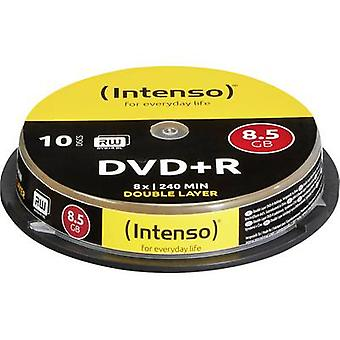 Intenso 4311142 DVD vuoto-R DL 8,5 GB 10 pc(i) Spindle