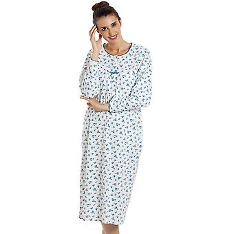 Camille WOMENS FLORAL L/S NIGHTDRESSES