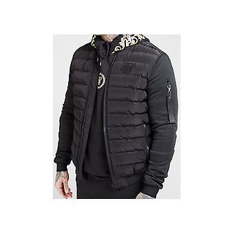 Sik Silk Storm Bubble Black Jacket