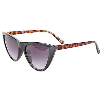 Jeepers Peepers Cat Eye Style Solbriller - Sort Tort