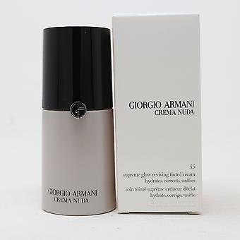 Giorgio Armani Crema Nuda Przyciemniane krem 1.01oz/30ml Nowy z pudełkiem