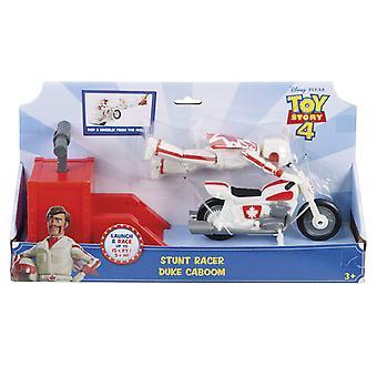 Disney GFB55 Pixar Toy Story 4 Stunt Bike Racer Duke Caboom