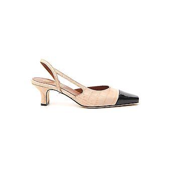 Paris Texas Px201xcagv22613 Women's Beige/black Leather Sandals
