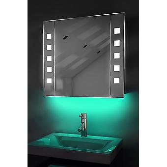 Gabinete de ambiente espelho com Sensor & K16W Shaver interno