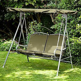 Gardenista® Olive Replacement Canopy für 2 Sitze Argos Malibu Swing Seat
