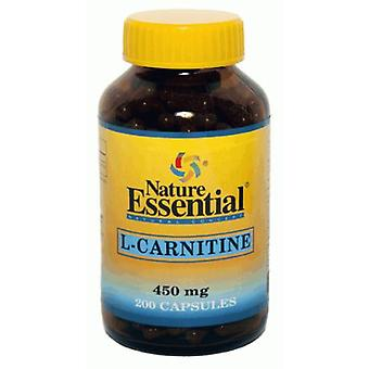 Nature Essential L-Carnitine 450 mg Capsules