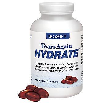 Ocusoft tears again hydrate, softgel, 120 ea