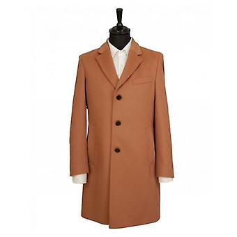 BOSS Wool Cashmere Crombie Coat
